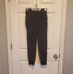 Black scrub pants. Size XS.